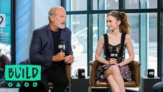 "Download Video Kelsey Grammer & Lily Collins Discuss ""The Last Tycoon"" MP3 3GP MP4"