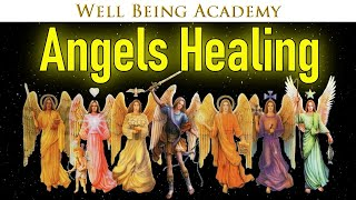🔴 🕊️ Angels Healing For Deep Relaxation & Study Concentration ☯ 065