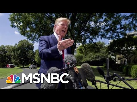Digesting The President's Absurdities As Allies Privately Worry | Deadline | MSNBC