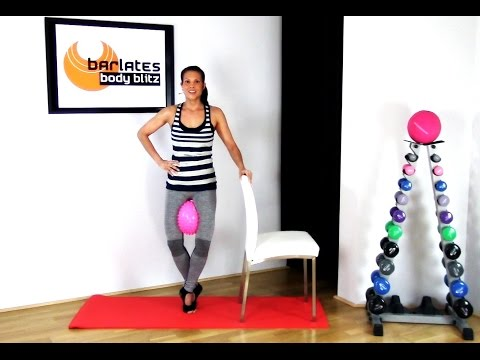 FREE Barre workout with Ball - Lower Body Barre with Ball BARLATES BODY BLITZ