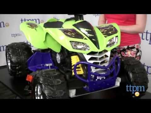 Power Wheels Teenage Mutant Ninja Turtles Kawasaki KFX From Fisher-Price