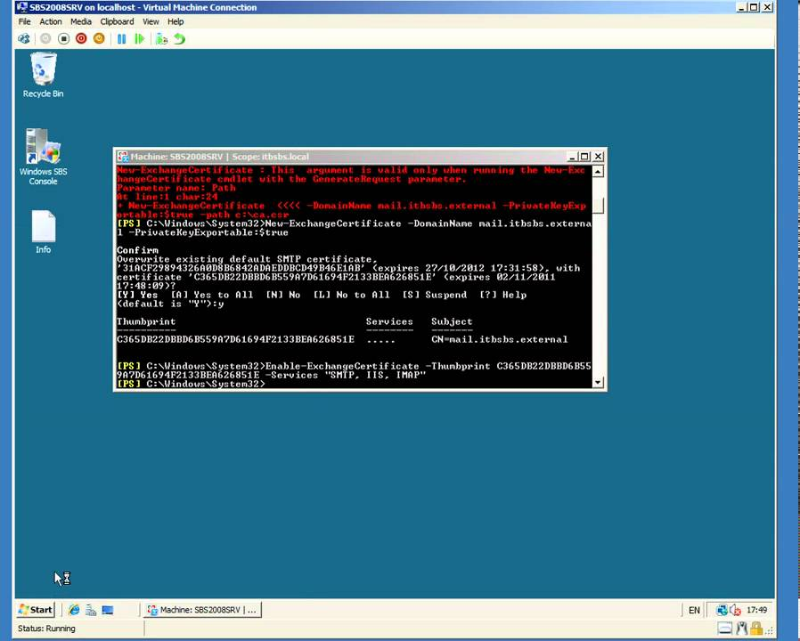 2 Configure Exchange Server For External Access Create A Self