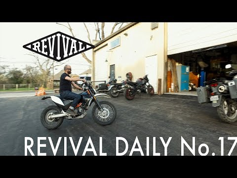 Alan Loves his KTM // Revival Daily No. 17