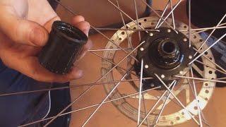 Горный велосипед - Ремонт барабана. Как сделать велосипед самому.(Это видео о разборке сборке барабана трищётки заднего колеса. В целом тематика канала и частично..., 2016-01-19T21:05:55.000Z)
