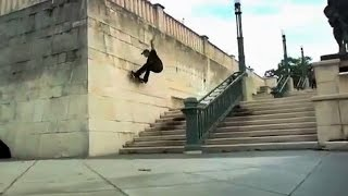 INSTABLAST! - SWITCH 540 Bigspin!! FS 270 Lip Shuv Out a Handrail! Late Shuv 6 Stair in the SNOW!?!!