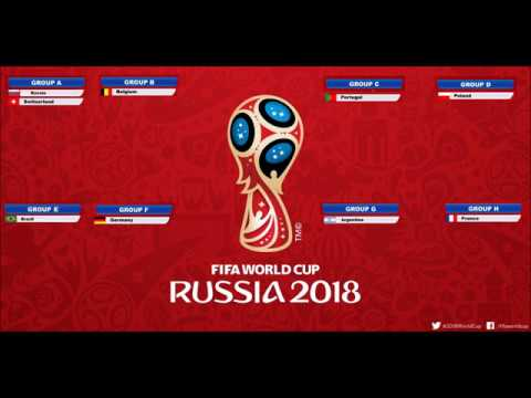 World Cup 2018 Russia Draw Forecast