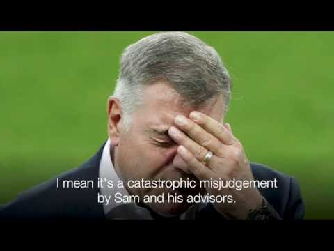 Shearer on Allardyce: England are a laughing stock