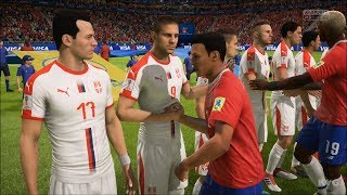 2018 FIFA World Cup Russia - Costa Rica vs Serbia - Gameplay (HD) [1080p60FPS]