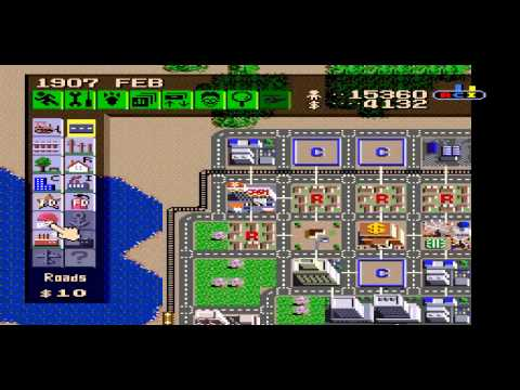 Let's longplay SimCity on the SNES!