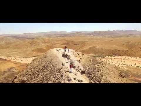 Negev Desert of Isreal Aerial Drone Footage