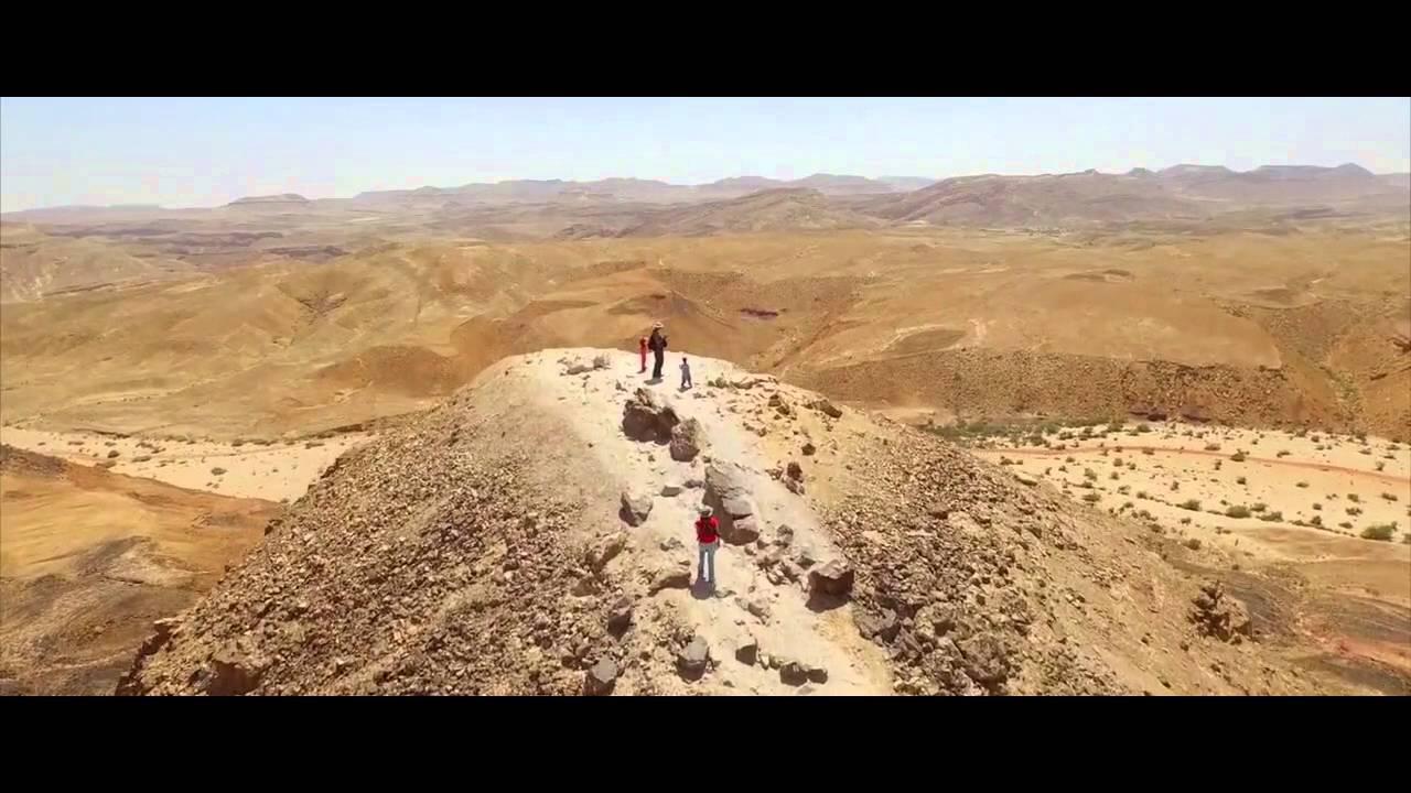 Negev Desert of Isreal Aerial Drone Footage - YouTube