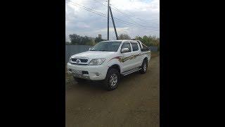 замена антифриза Toyota Hilux 2.7