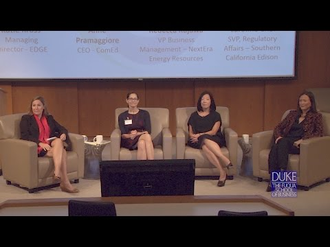 Duke University Energy Conference: The Evolution of Electric Utilities