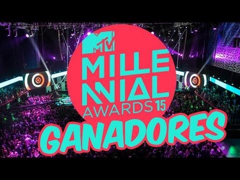 GANADORES DE LOS MTV MILLENIAL AWARDS 2015
