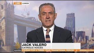 Jack Valero on AlJazeera News on Cardinal Pell