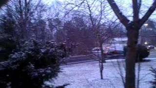 Nieve en Brentwood ny Long island