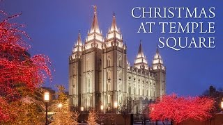 Temple Square - Christmas at the Salt Lake Temple!
