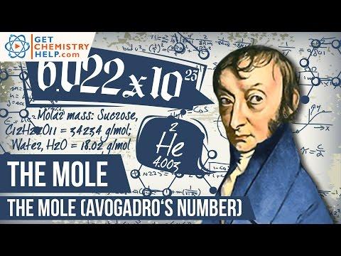 Chemistry Lesson: The Mole (Avogadro