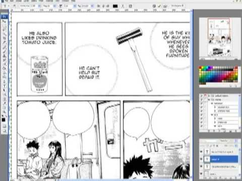 Translating a manga, page by page