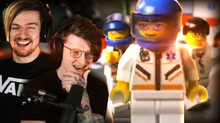 REACTING TO LEGO CITY MEMES