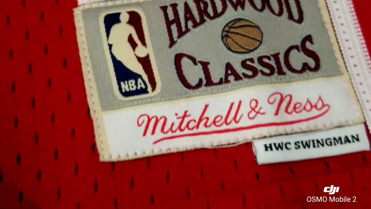 sneakers for cheap 4daba b8cd7 LeBron James Rookie Jersey Hardwood Classics Swingman