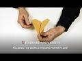 Folding the world record paper plane
