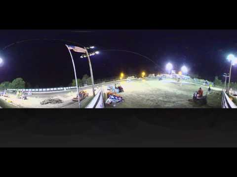 Reese Moran flip at Port City Raceway