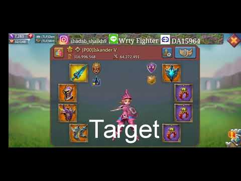 Zeroing Overlord Guild || Lords Mobile