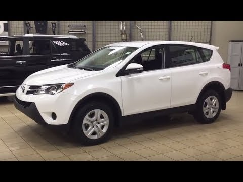 2015 toyota rav4 le awd review youtube. Black Bedroom Furniture Sets. Home Design Ideas
