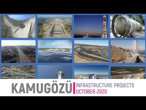 Summary of Major Infrastructure Projects in Turkey, September-2020