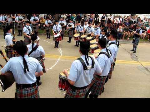 New York Metro Pipe Band Wins 2011 Celtic Classic.