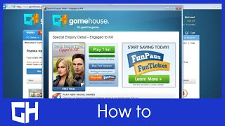 How to unlock your GameHouse game