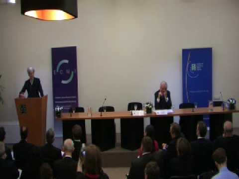 1st part - Christine Lagarde at CEPS on 18 March 2010