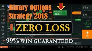 Binary Options Strategy 2018 - 99% WIN GUARANTEED - How to make money online