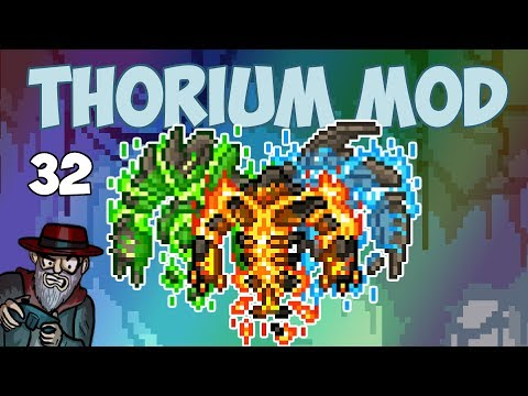 Terraria # 32 MAX DPS! FINAL EPISODE!  - 1.3.5 Thorium Mod Let's Play