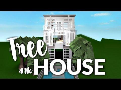 Bloxburg Tree House 41k Youtube