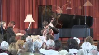 Clancy Newman plays Mendelssohn Sonata movement IV: Molto allegro e vivace