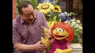 There's a new girl on the block: Sesame Street introduces autistic muppet called Julia