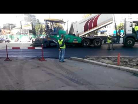 Реконструкция Проспекта Победы Киев