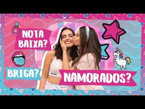 PRIMEIRO BEIJO? com CAROL E VITORIA