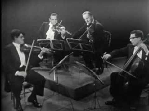 Amadeus Quartet in 1956: Mozart K458 1/2 Amadeus (4.1956)