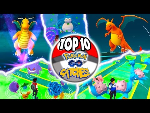 pokemon go top 10 catches in history youtube. Black Bedroom Furniture Sets. Home Design Ideas