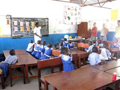 Amsterdam-Dakar 2011 Hand to Hand Kairaba nursery school