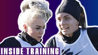 Lionesses' First Training Session for She Believes | England v Brazil | Inside Training | Lionesses