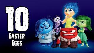 TOP 10 Easter Egg: 10 Easter Eggs De Intensamente (Pixar)