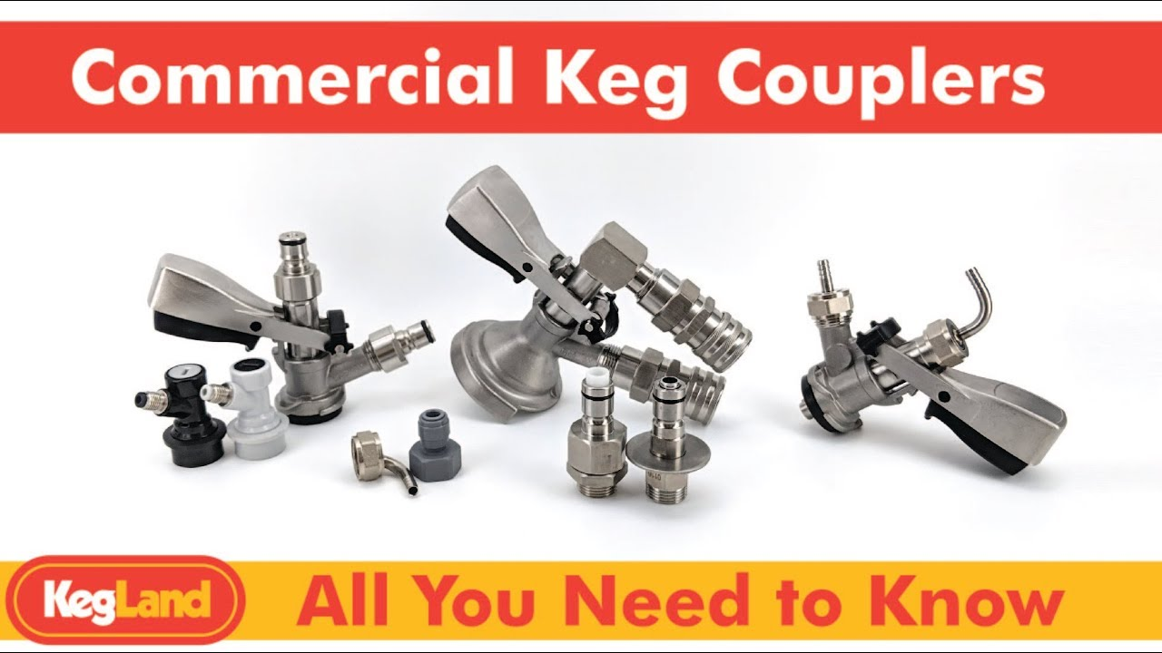 hight resolution of keg coupler diagram