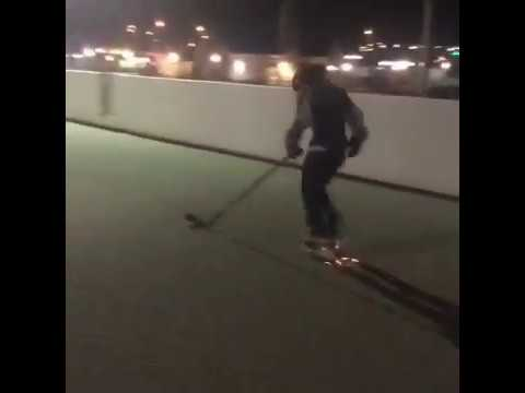 SKATING ON CONCRETE