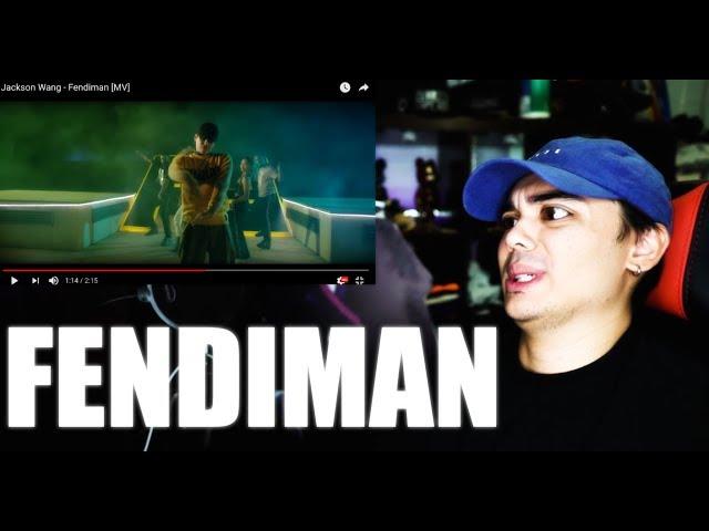 Jackson Wang - Fendiman MV Reaction [FREESTYLE LOL]