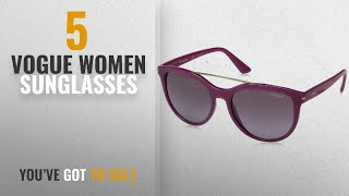 Top 10 Vogue Women Sunglasses [2018]: Vogue Gradient Phantos Women's Sunglasses -