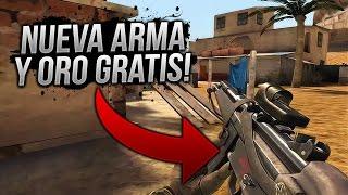 NUEVA ARMA MP5 Y ORO GRATIS NUEVA ACTUALIZACIÓN BULLET FORCE ANDROID & IOS!